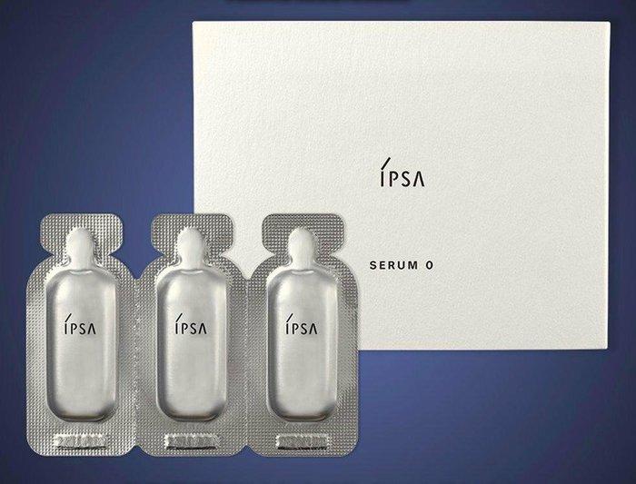 【Q寶媽】IPSA 茵芙莎 淨化歸0前導精萃0.6ml*3 全新專櫃貨中文標籤