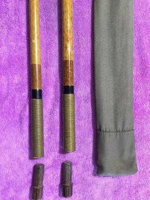 日本製 SHIMANO 朱紋峰 飛造 竿掛 一本半物 日式釣竿竿掛 可刷卡