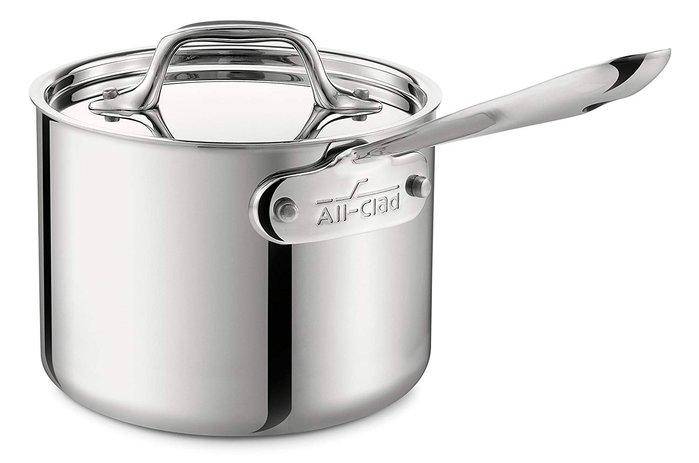 美國All-Clad D3 STAINLESS 15cm 不銹鋼鍋 單柄 醬汁鍋 湯鍋 燉鍋 平底鍋 含蓋