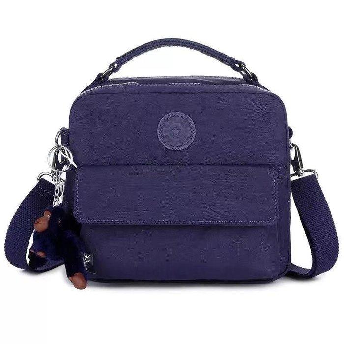 凱莉代購 Kipling k04472/2050 紫色 輕便 休閒 斜背肩背側背手提後背多用款包 預購