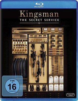【藍光電影】BD50 王牌特工:特工學院 (C區國行機器不能播放)Kingsman The Secret Service 2015 72-028