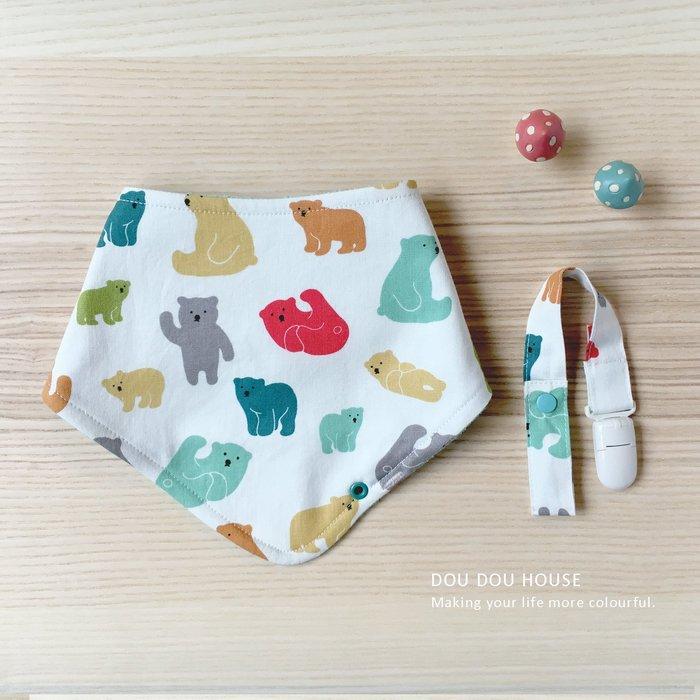 *Dou Dou House Collection*嬰幼兒毛巾布三角圍兜 口水巾 領巾-四款(現貨)