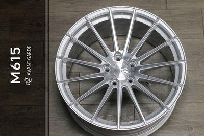 【宏程輪胎】19吋 鋁圈  旋壓鋁圈 銀底車面 5/112 5/114.3 5/120 AG M615