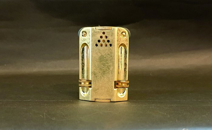 ONE*$1~*日本企鵝*PENGUIN雙火石《ALEX-III煤油打火機》黃銅製*重量:150克