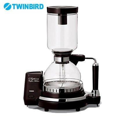 雙鳥牌 TWINBIRD CM-D854 電動 虹吸式 咖啡機 480ml 4人份 (CM-D853新款) LUCI代購