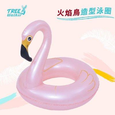 【Treewalker露遊】火焰鳥造型泳圈 Jilong造型游泳圈 4-8歲兒童泳圈 漂浮圈 天鵝湖 水上用品 浮板