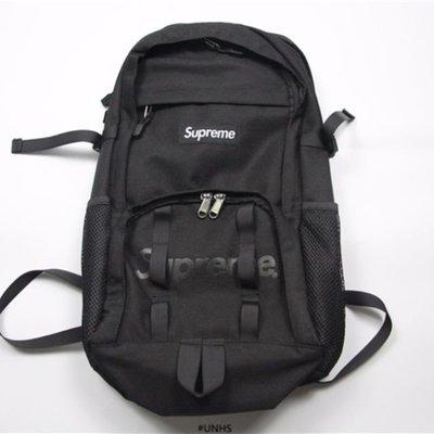 Supreme backpack 38th black 後背包