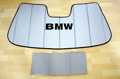 【B&M 原廠精品】BMW原廠「前擋 防UV 隔熱遮陽板 Sunshade」E90