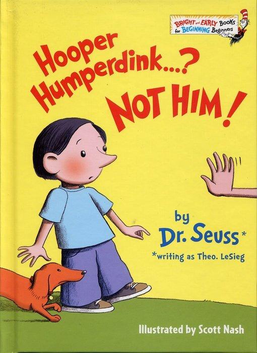 *小貝比的家*HOOPER HUMPERDINK...? NOT HIM!/精裝/3~6歲