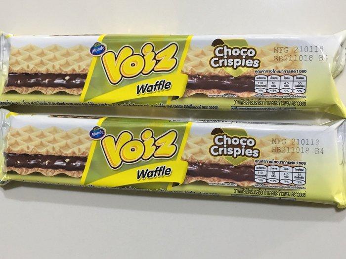 泰國 voiz 威化巧克力餅乾 威化酥 23g 巧克力夾心餅乾