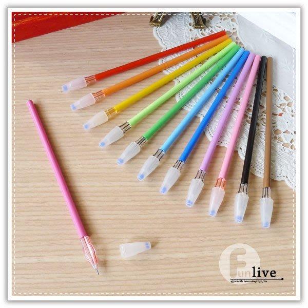 【贈品禮品】B2749 亮彩筆芯筆/彩色原子筆/極細原子筆/糖果色原子筆/中性筆/文具用品/彩色筆