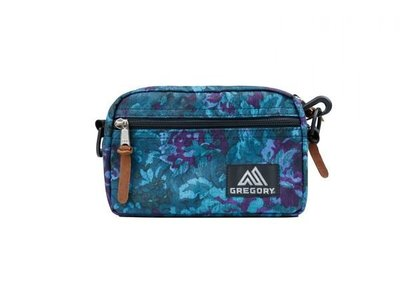 Gregory Padded Shoulder Pouch M (BLUE TAPESTRY 藍花) 100%REAL 100%NEW絕對是正貨