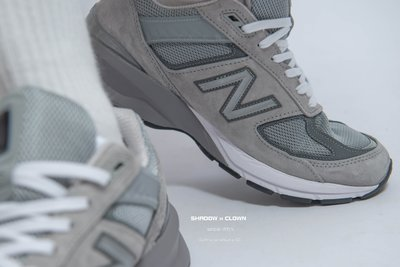 ►Shadow X Clown◄New Balance 990v5 黑白/海軍藍/黑灰銀/美國配色 美製 標準D楦頭