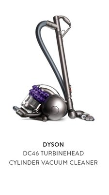 DYSON DC46 TURBINEHEAD CYLINDER VACUUM CLEANER