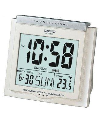 [ㄚ寶3C ] CASIO DQ-750F-7 具有溫度計與日期功能的大字幕鬧鐘(附台灣原廠保證書) DQ-750 台南市