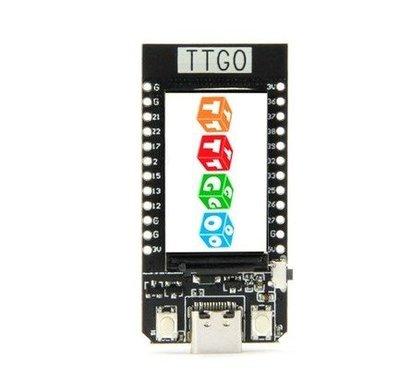 【新燈火百貨城】TTGO T-Display ESP32WiFi藍牙模塊1.14英寸LCD開發板For