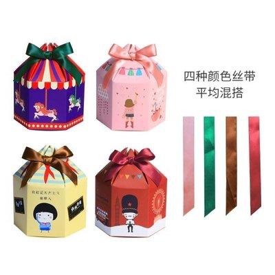 圣誕節熱銷平安果盒蒙古包式平安夜蘋果包裝盒創意紙盒含絲帶