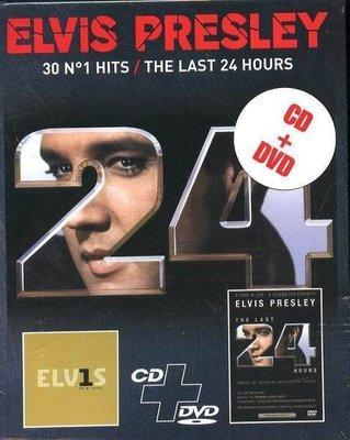 (甲上唱片) Elvis Presley -  ELV1S 30 #1 Hits / LAST 24HOURS - 歐版CD DVD