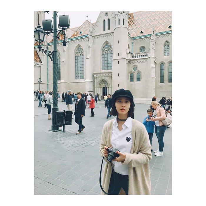 CC Collection 代購 Comme des Garçons PLAY 川久保玲 經典基礎女款黑心刺繡白色襯衫