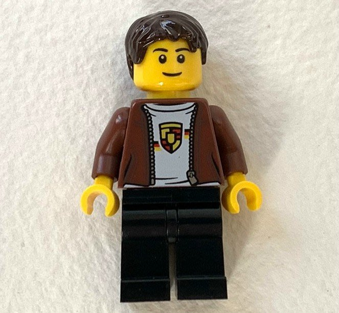 全新美國帶回 樂高積木LEGO 75895 人偶 Porsche Driver...如圖