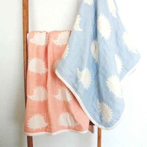 日本製 10mois Hoppetta 六重紗 棉被 刺蝟 被子M號