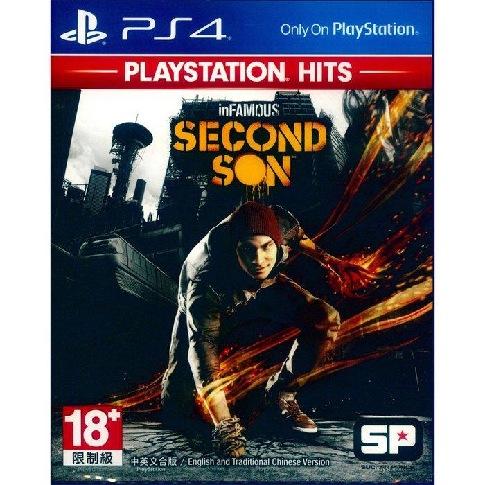 (現貨全新) PS4 惡名昭彰:第二之子 中英文亞版 inFAMOUS: Second Son