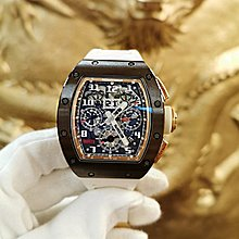 Richard Mille [2016 USED][LIMITED 50 PIECE] RM 011 Asia Boutique Brown Ceramic