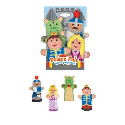 【晴晴百寶盒】美國進口城堡手偶 Melissa&Doug扮演角系列手眼協調 生日禮物家家酒 益智遊戲玩具W632
