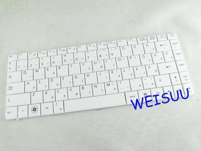 {偉斯科技}MSI X300 X320 X400適用鍵盤