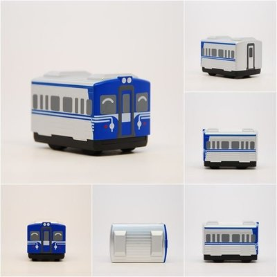 TRAIL 鐵支路 Q版迴力車 EMU600 (標準版) QV043+三鶯重工 EMU600 四輛增節組 NS003