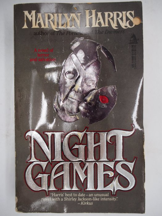 【月界二手書店】Night Games_Marilyn Harris 〖外文小說〗CJO