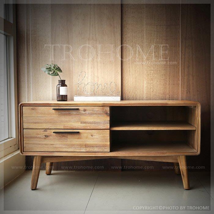【拓家工業風家具】 Holm北歐風格相思木實木電視櫃/北歐收納櫃抽屜櫃展示櫃/LOFT收納櫃置物櫃五斗櫃隔間櫃