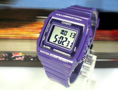 CASIO手錶 大字幕 日本超人氣  超炫電子錶  亮皮錶帶  型男、女&天王星精品【↘540】W-215H-6