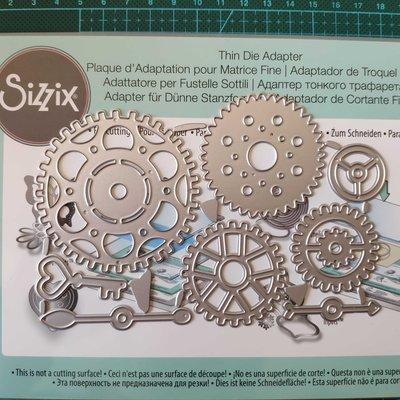 阿里家 18007scrapbook DIY卡片手賬薄板模具 機械齒輪組8個裝 卡影定制