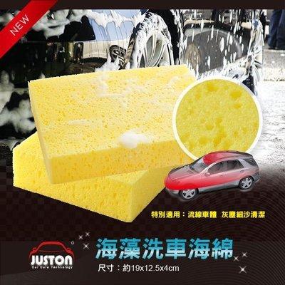 PRO自助洗車/大孔洞乳酪洗車海綿/海藻洗車綿單入--摩布工場-PTS-40125190