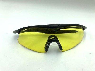 【WKT】戰鬥風鏡、護目鏡、風鏡 黃色鏡片-DE00305