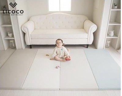 現貨 韓國 ggumbi 新品牌LICOCO折疊地墊 240*140*4cm-時尚藍 dreamb同公司