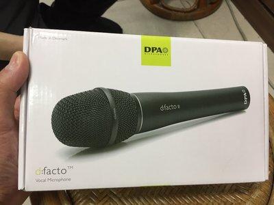 【新登場】DPA d:facto 4018(高階型)人聲麥克風 適合:現場演唱會,PUB,錄音室,舞台工程,(丹麥製)