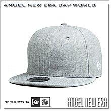 【ANGEL NEW ERA 】NEW ERA 素帽 素面 麻灰 9FIFTY SNAPBACK 限量後扣帽