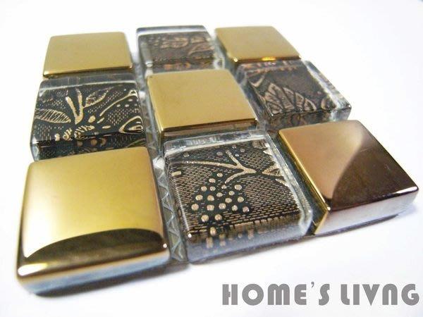 [磁磚精品HOME'S LIVING]2.3*2.3 水晶 玻璃 圖騰 馬賽克磁磚 金銅 設計旅店 宜蘭民宿 餐廳 飯店