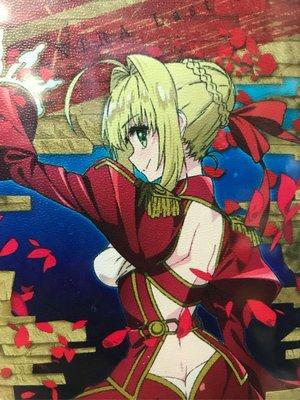 日本 正版 FateExtra 尼祿 長型銀包 一個