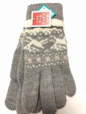 日本製 編織手套 質感細緻保暖
