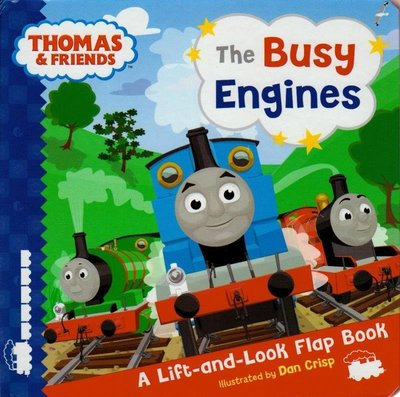 Thomas & Friends: The Busy Engines  (Lift-the-Flaps)  湯瑪士小火車