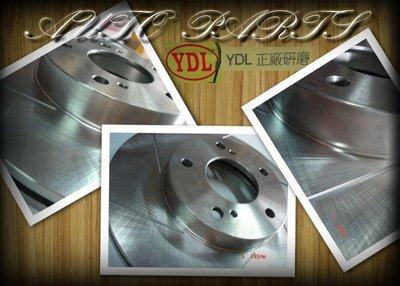 線上汽材 YDL 劃線煞車盤/前X2 SPACE GEAR 2WD/得利卡 2.0/2.4 99- 貨車