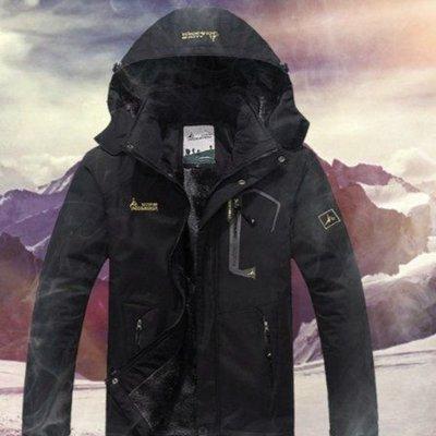買這件真的很值得(預購)正品羅堡羅UNCO BOROR戶外登山露營防水男女情侶秋冬季衝鋒衣外套