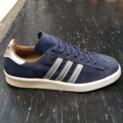 adidas CAMPUS 80s 藍色 白色 米色 銀色 深藍 奶油底 麂皮 薄鞋舌 復古 基本款 M22306 台北市