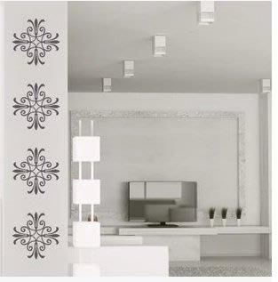 小妮子的家@方型花紋壁貼/牆貼/玻璃貼/汽車貼/磁磚貼/家具貼