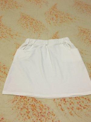 白色短裙 SIZE S