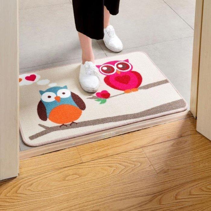 ☜男神閣☞居家家 客廳門口進門地墊門廳玄關門墊 廚房吸水腳墊臥室床邊地毯