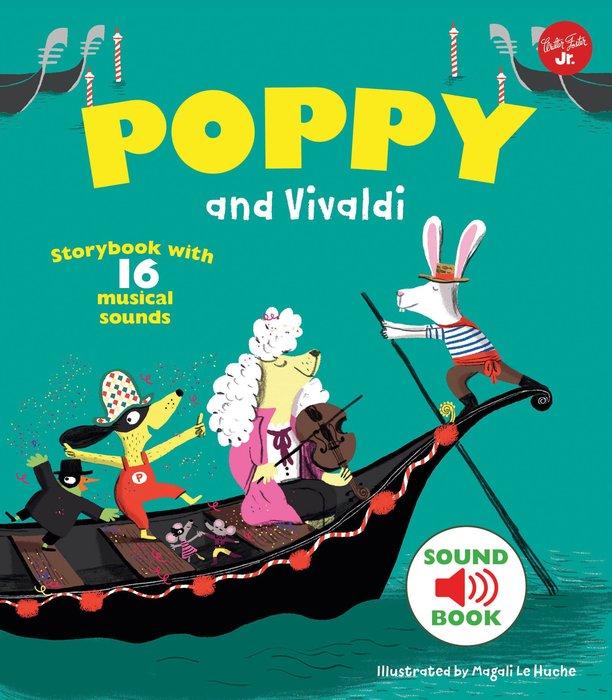 *小貝比的家*POPPY AND VIVALDI/精裝書/4-5歲中班/聲音書